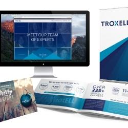 Company Rebrand Marketing Pieces