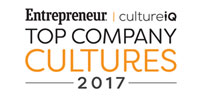 Entrepreneur Culture IZ Top Company Cultures 2017 Winner