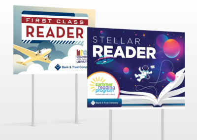 Library Reader Yard Signs